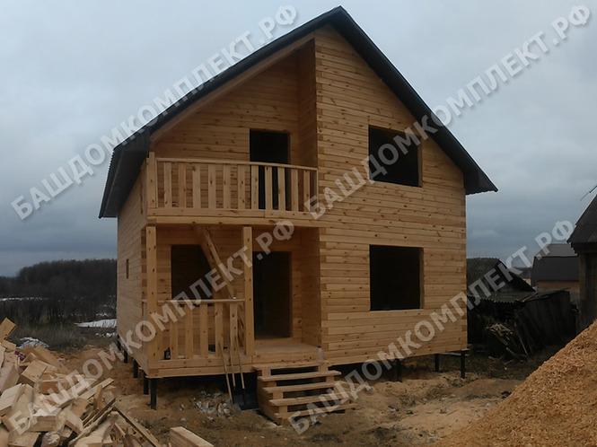 Проекты домов из бруса фото в уфе